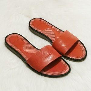 Bally Leather Slides